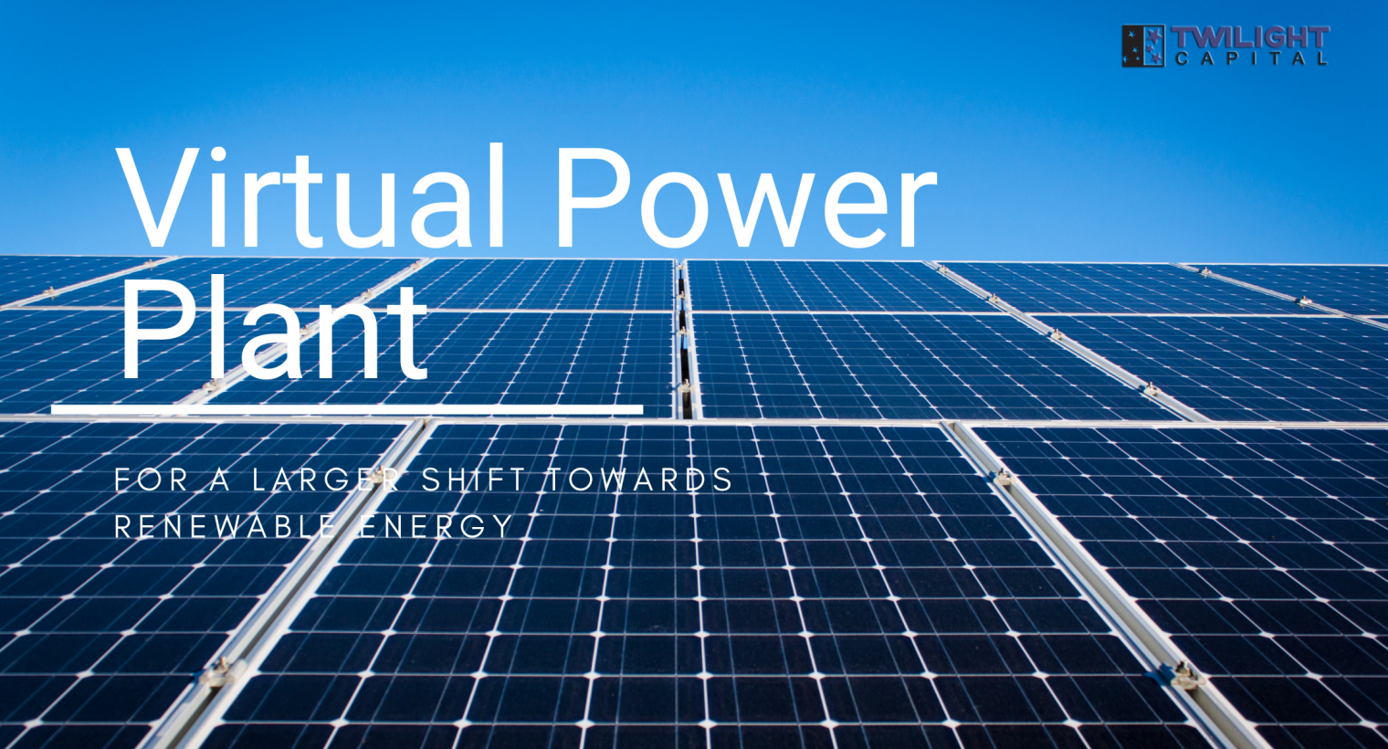 Virtual Power Plant Image Cover